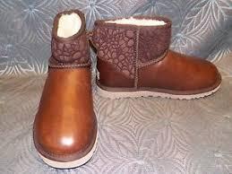 s ugg australia mini leather boots ugg australia s mini floral grunge mount mercy
