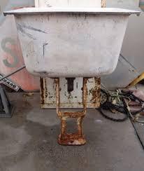 cast iron laundry sink vintage antique farmhouse kohler cast iron laundry utility sink
