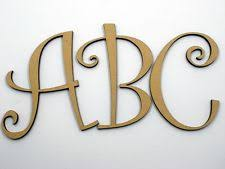 10x1 5cm thick wood wooden letters alphabet diy bridal letters decorative plaques signs ebay