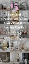 cozy and decorated reading nooks that will inspire you to design