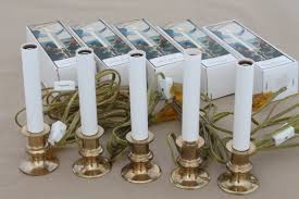 Electric Candle Lights For Windows Designs Solid Brass Candlestick Ls Electric Candle Lights Candles For