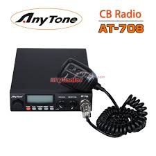 anytone at 708 vehicle cb mobile radio u2013 walkie talkie two way