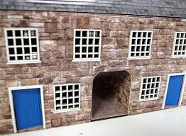 pair of 28mm british houses the wargames website