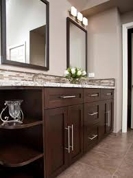 Bathroom Vanity Ideas Double Sink Bathroom Remodeling Brown Bathroom Vanity Makeover Ideas