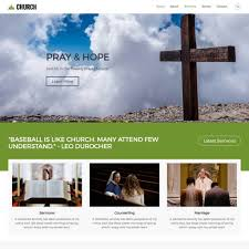 10 best church themes templates for 2018