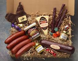 cheese gift box eichtens cheese sausage and bison gift boxes for sale