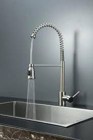 breathtaking industrial kitchen faucets commercial sinks stainless