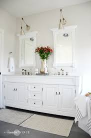 One Room Challenge One Room Challenge Bright White Master Bathroom Final Reveal