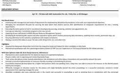 Resume Sample For Hr Manager by Best Query Letters Sample Customer Service Resume In Example