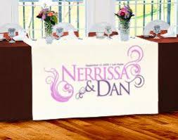 wedding table covers wedding table runners banners wedding table covers