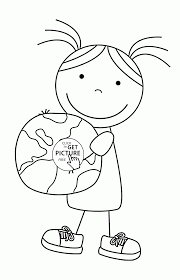 celebrate happy earth day coloring page for kids coloring pages