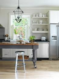 kitchen island table on wheels industrious casters just add wheels to create a floating kitchen