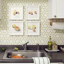 Kitchen Wallpaper Design 15 Modern Kitchen Designs With Geometric Wallpapers Rilane
