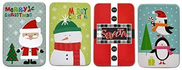 gift card tin christmas gift card tin holders set of 4 wantitall