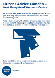 citizens advice bureau camden cab surgery