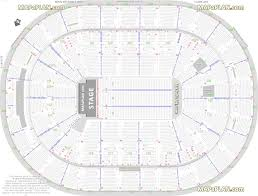 pepsi center floor plan scottrade center seating chart with rows and seat numbers