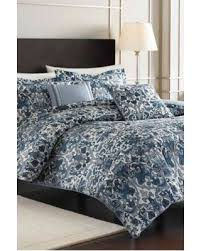 Porcelain Blue Duvet Cover Incredible Deal On Nicole Miller Porcelain Blue King Comforter