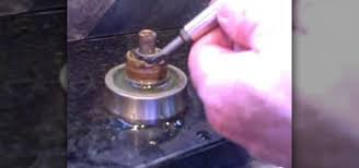 how to repair leaking kitchen faucet how to fix a faucet leaking from around the handle construction