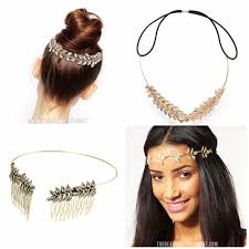 gold leaf headband the beauty department your daily dose of pretty make like a tree