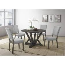 upholstered dining room sets upholstered kitchen dining room sets for less overstock com