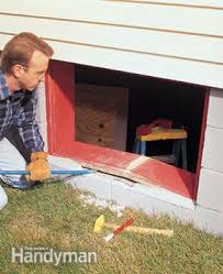 Replacing A Basement Window by Installing Glass Block Windows In Basement Family Handyman