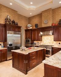 DarkwoodkitchencabinetsKitchenContemporarywithnone - Dark wood kitchen cabinets