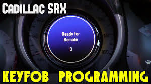 2010 2016 cadillac srx key fob programming guide youtube