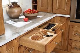 Cabinet Drawer Inserts Duty Bread Board U0026 Knife Drawer Insert Cabinet And Drawer