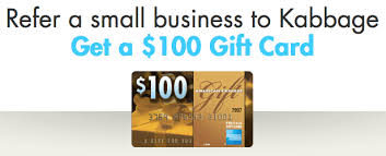 Gift Card Programs For Small Business Kabbage 50 Small Business Loan Bonus Plus 100 Referrals