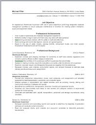 Sample Resume For Warehouse Worker by Warehouse Manager Resume Samples Visualcv Resume Samples Database