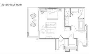 Bedroom Size For Queen Bed Deluxe 3 Bedroom Miami Oceanfront Suites Acqualina Resort U0026 Spa