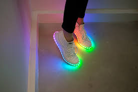 diy light up shoes learn sparkfun