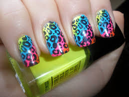 cheetah nail designs pccala
