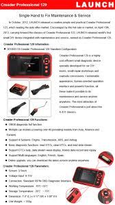 199 99 launch crp129 auto code reader obdii crp 129 creader 199 99 launch crp129 auto code reader obdii crp 129 creader professional crp 129 obd2 scanner