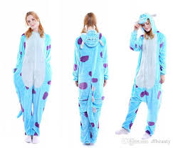 autumn and winter unisex animal onesies for adults animal