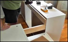 fabrication armoire cuisine il fabrique un lit d ado avec des armoires de cuisine ikea sa