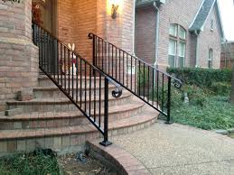 outdoor wrought iron stair railing cost durable outdoor wrought