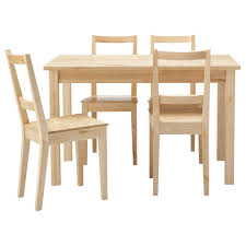 simple dining table with chairs