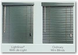 The Light That Blinds Hunter Douglas Lightlines Modern Precious Metals Blinds With De