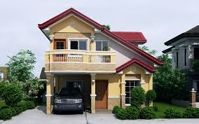 Modern Home Design Plans Sarah Dramatic Open To Below Two Storey House Pinoy Eplans