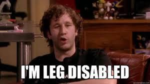 It Crowd Meme - i m leg disabled it crowd quickmeme