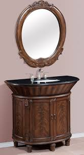 42 Bathroom Vanity With Top by 42 Inch Single Bath Vanity Set With Mirror And Granite Top
