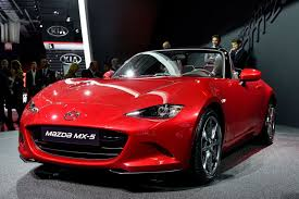 types of mazdas mazda unveils new mx 5 at paris auto show auto types