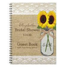bridal shower guest book bridal shower notebooks unique bridal shower