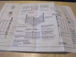 r ucd pp13023 5 deck railing designs vintage woodworking plan