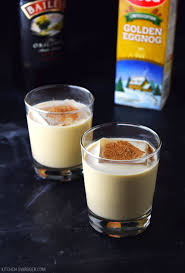 martini eggnog eggnog holiday cocktail recipe kitchen swagger