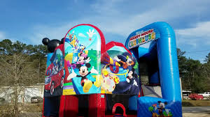 mickey mouse clubhouse bounce house mickey mouse clubhouse combo bounce house rental best jump