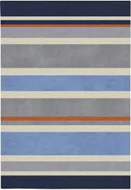 Blue Striped Area Rugs Gray Blue Stripes Rug Surya Rosenberryrooms In Blue Striped Area