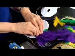 make your own mardi gras mask how to make a mardi gras mask