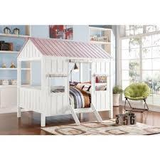Bunk Bed House Tree House Bunk Beds Wayfair